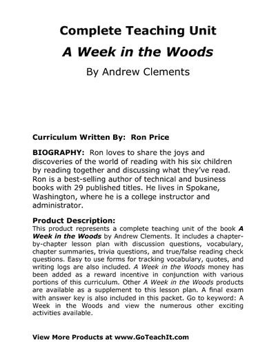 bill bryson a walk in the woods essay American dream within short stories / essays a walk in the woods by bill bryson this novel, written by bill bryson.