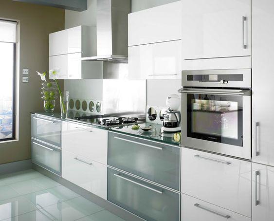 Best White Kitchens High Gloss Kitchens Milan White Gloss 400 x 300