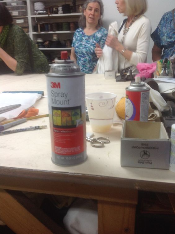 Koos workroom 3M spray used for mounting fabrics