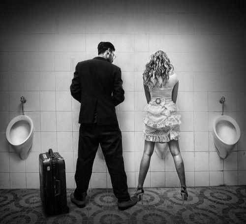 Wrong Toilet? by Alamsyah Rauf: