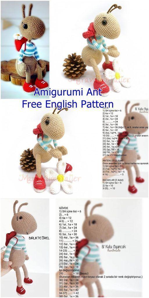 Ideias de Bichinhos de Amigurumi – Meu Mundo de Crochê | 1024x512