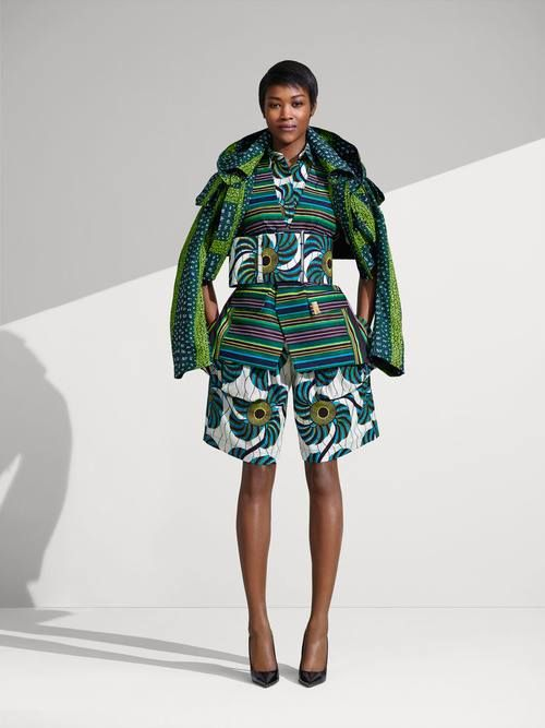 Vlisco ~Latest African Fashion, African Prints, African fashion styles, African clothing, Nigerian style, Ghanaian fashion, African women dresses, African Bags, African shoes, Nigerian fashion, Ankara, Kitenge, Aso okè, Kenté, brocade. ~DKK