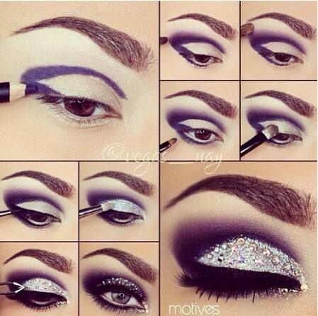 #make #maquiagem #sombra