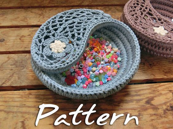 Free Crochet Pattern Yin Yang : Pinterest El catalogo global de ideas