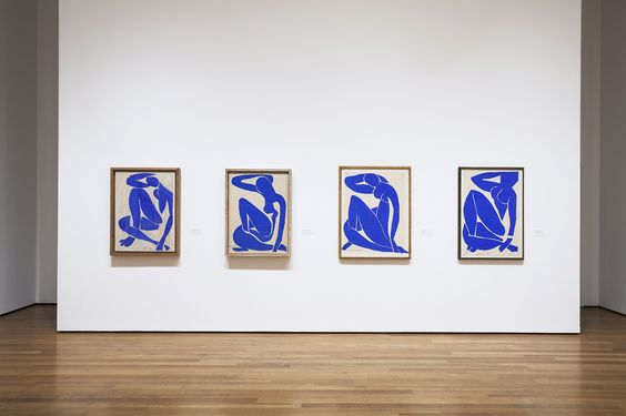 Henri Matisse: The Cut-Outs on display now at MOMA.