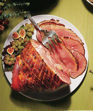 Hams, Maple glazed ham and Real simple on Pinterest