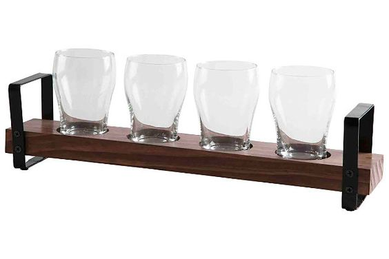Home Accents Four Glass Beer Flight by Ashley HomeStore