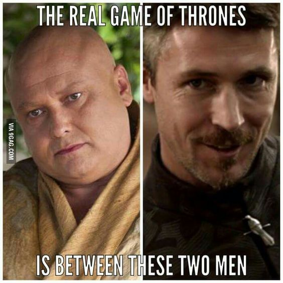 The series should be called Littlefinger vs. The Spider.