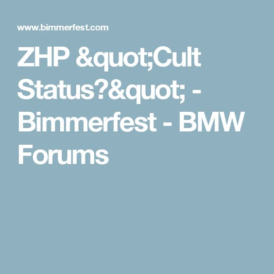 ZHP Cult Status Bimmerfest BMW Forums – I Wished I Had The Bmw E46 Fuse Diagram