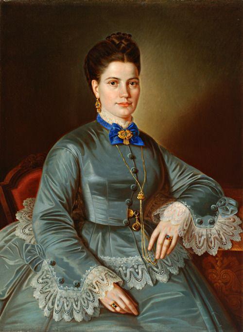 1870-1879 Peter Michal Bohúň - Pani Škripeňova-Bodemannova