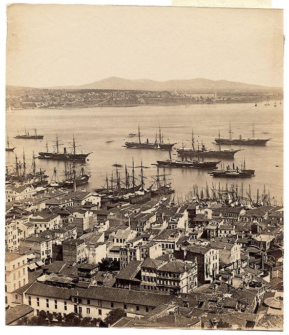 Galata Kulesi'nden Panorama - 4 Basile Kargopoulo, 1870'ler: