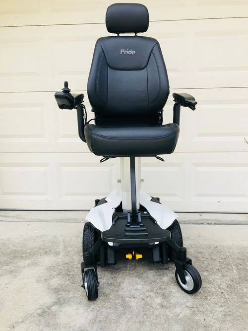 Used Like New Pride Jazzy Air Power Wheelchair With Elevating Seat
