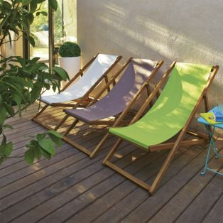 chaise longue de jardin chilienne verte vert udine les bains de soleil et transats. Black Bedroom Furniture Sets. Home Design Ideas