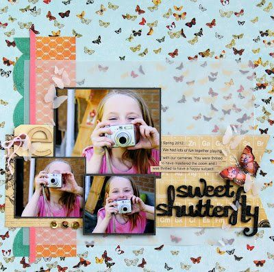 Love this butterfly paper from SEI's Field Notes Collection!