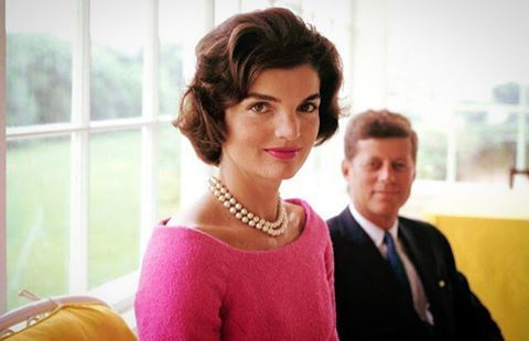 """""""Pearls are always appropriate."""" ~ Jacqueline Kennedy. Jackie's pearls were actually costume or made of glass. It is so difficult to tell the difference between real and faux pearls that most people opt for the cheaper option."""