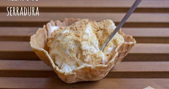 Fabulosa receta para Helado de serradura. Empezamos nuestra temporada de helados…