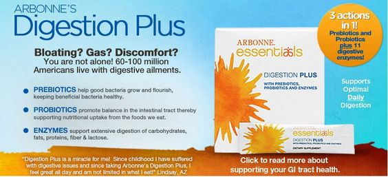Arbonne Digestion Plus  This is one of my favorite Arbonne products! It totally sets the tone of my day for supporting my digestion and taking care of my intestinal flora!  Mommies- your babies inherit your gut situation: make sure you're passing on a healthy one! <3