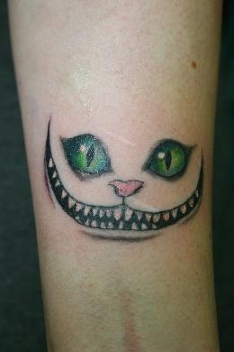 grinsekatze tattoo motiv von antares tattoo m nchen tattoo pinterest tattoos. Black Bedroom Furniture Sets. Home Design Ideas