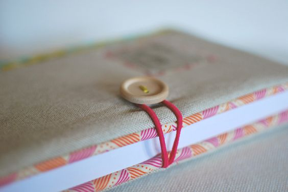 Mint Handicrafts | Journal cover Margarida