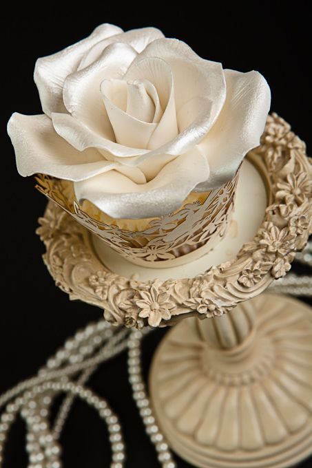 Image result for pinterest gilded cupcakes