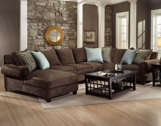 Family Room Robert Michael Rocky Mountain Chaise And Sofa
