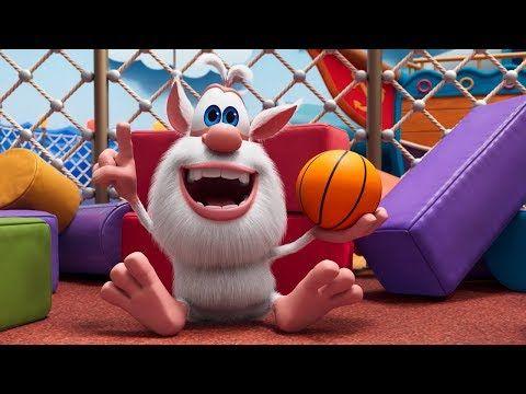 Booba Ep 37 Basketball Funny Cartoons For Kids Booba Toonstv Youtube Funny Cartoons For Kids Cartoon Kids Funny Cartoons