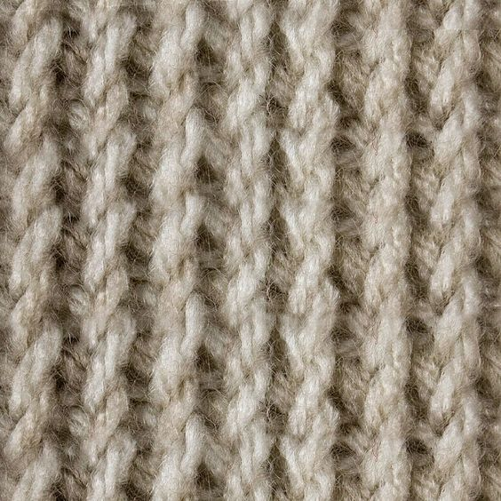 Tunisian Twisted Knit Stitch