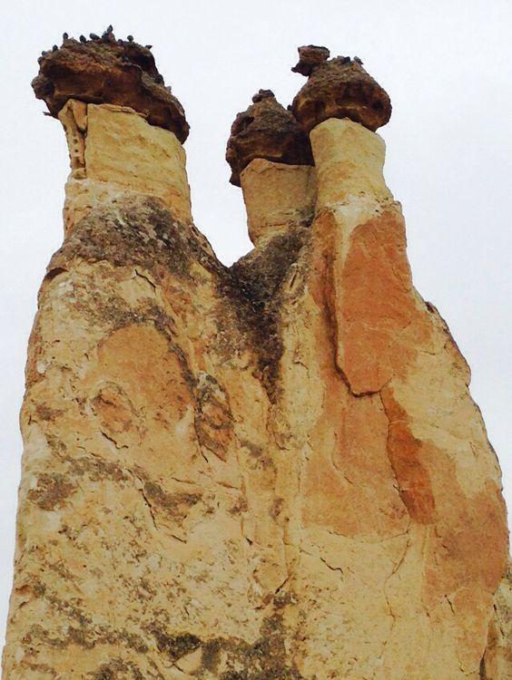 Faerie Chimneys in #Cappadocia.