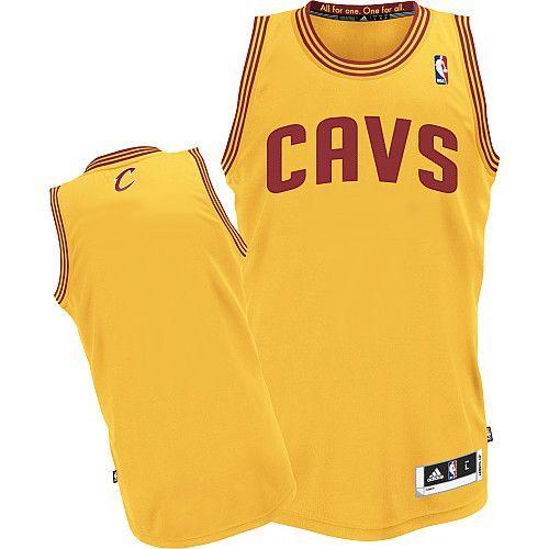 Revolution 30 Cavaliers Blank Yellow Stitched NBA Jersey | Nba ...