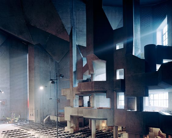 Divine Photos of America's Most Epic Churches   Mariendom, Neviges, Germany. Architect: Gottfried Böhm.  Christoph Morlinghaus    WIRED.com
