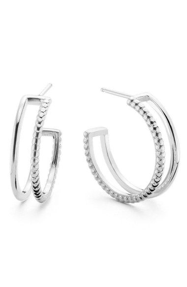 Shinola Open Hoop Earrings available at #Nordstrom