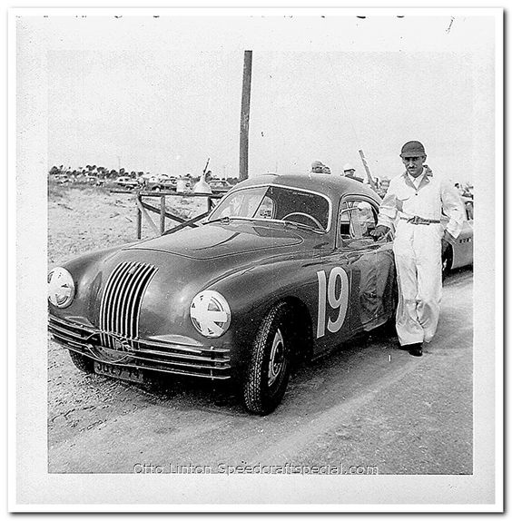 Otto Linton 1950 Fiat 1100s MM at Palm Beach Shores