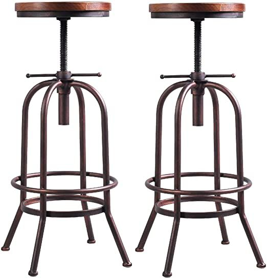 Pin By Sadew On Ssdes Industrial Bar Stools Bar Height Stools Industrial Bar Stools Metals