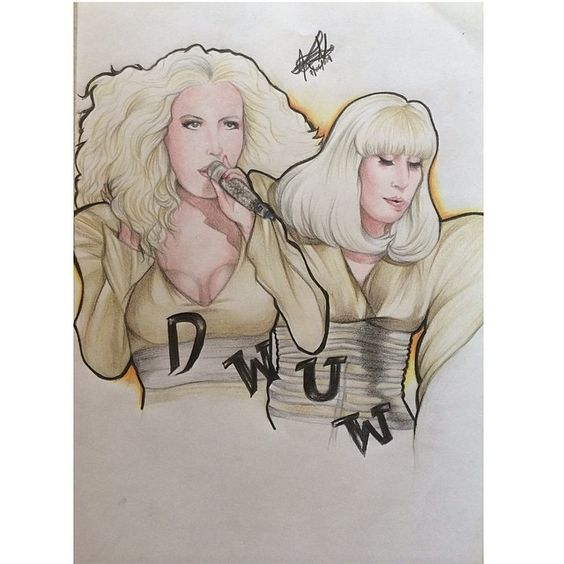 Do what u want with my body!  #ladygaga #art #drawing #painting #colour #dowhatuwant #dwuw #xtina #art #artpop #gold #pop