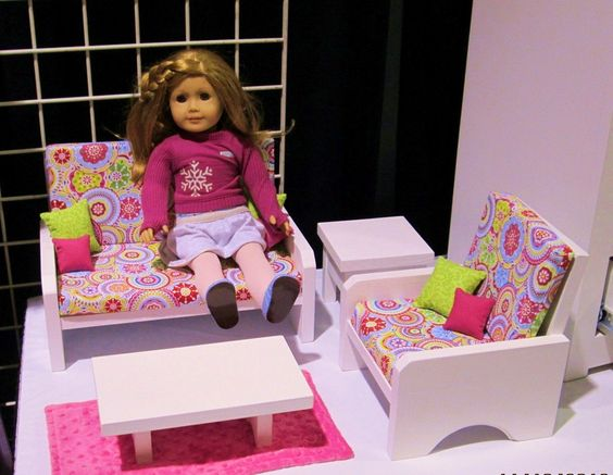 Living rooms couch dolls furniture living room designs chairs girls