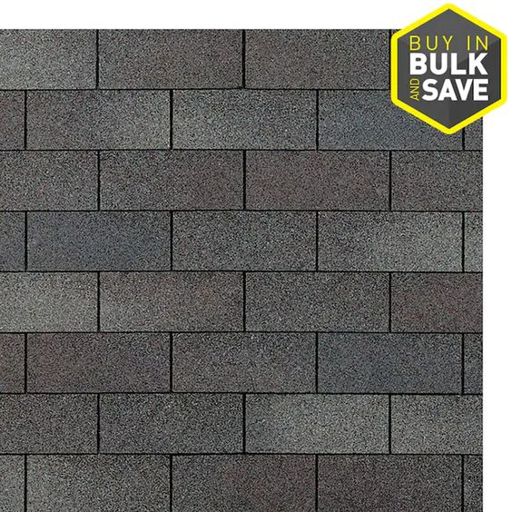 Owens Corning Supreme 33 33 Sq Ft Weathered Wood 3 Tab Roof Shingles Lowes Com In 2020 Roof Shingles Architectural Shingles Shingling