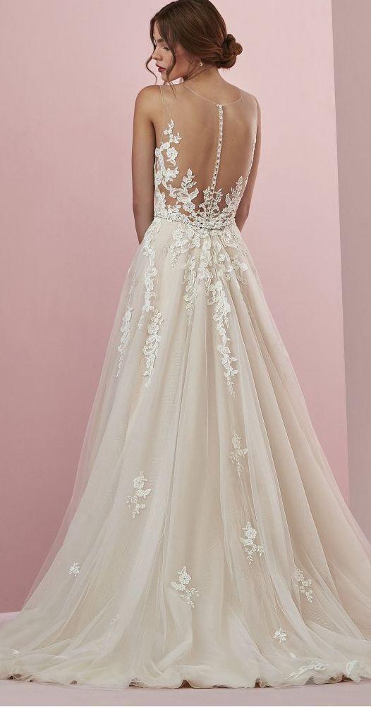 Camille By Rebecca Ingram Wedding Dresses Ball Gowns Wedding Illusion Wedding Dress Popular Wedding Dresses