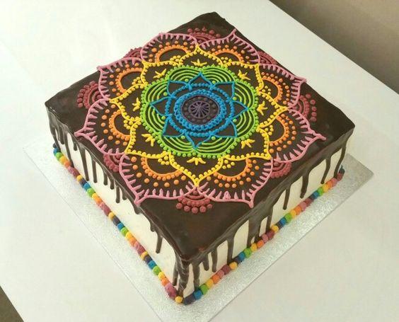 Henna chantilly chocolate cake
