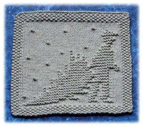 Knitting Pattern Dishcloth Christmas Tree : Trees, Christmas trees and Home on Pinterest