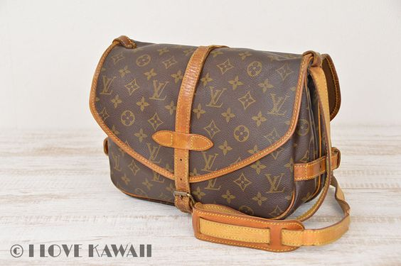 Louis Vuitton Monogram Saumur 30 Shoulder Bag M42256