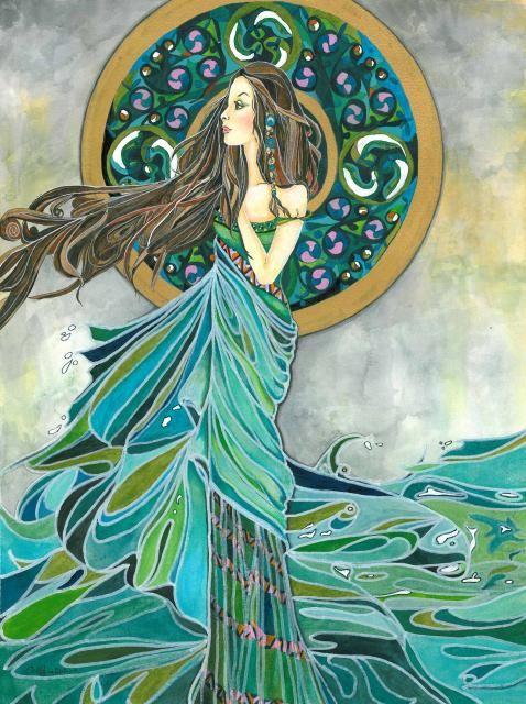 Aine - Celtic Goddess of love, light and fertility..: