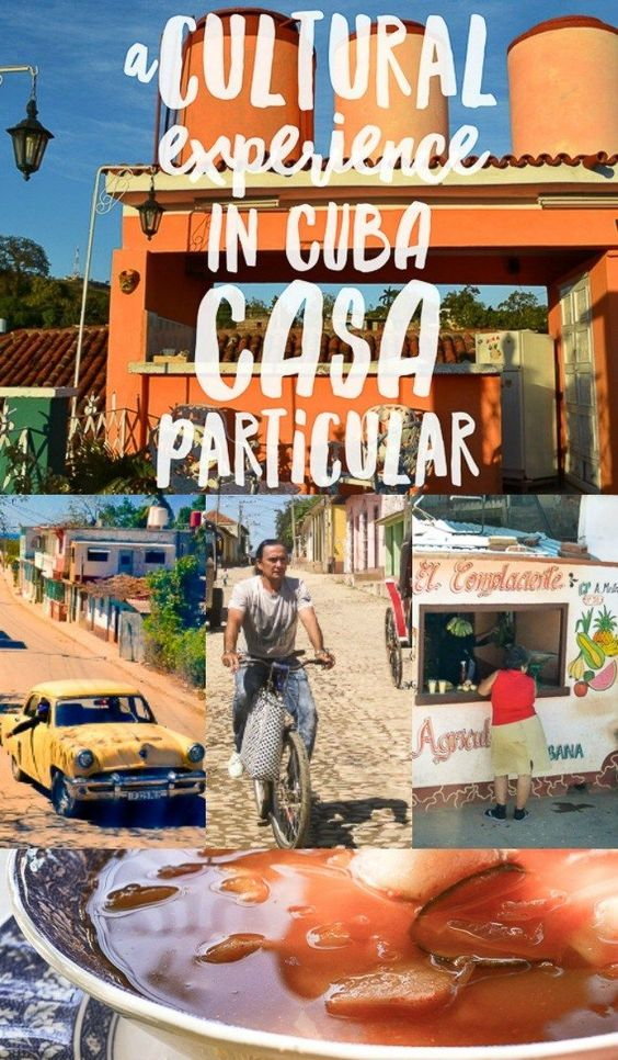Don't miss the Cuba travel  experience of a casa particular or homestay. This is the islands version of AirBnB.