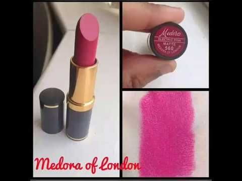 Medora Lipstick New Shades With Number And Switches 2019 Hd 001