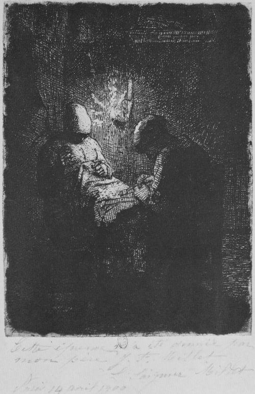 Millet (II), Jean-François: Die Nachtwache