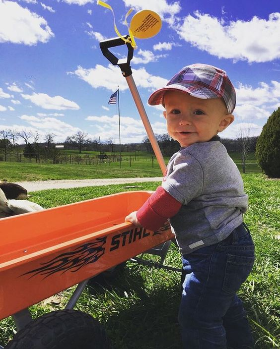 Let's get rolling. #RealSTIHL fan photo from Maggie R.