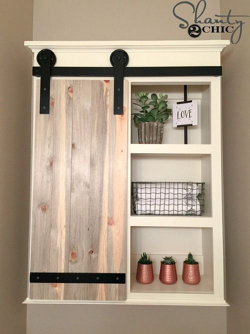 Space Saving Diy Bathroom Storage Ideas Sliding Barn Door Bathroom Diy Sliding Barn Door Bathroom Cabinets Diy