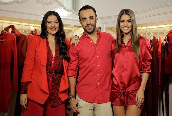 The Hits: Como usar vermelho total / Por Camila Coelho, Alice Ferraz e o top stylist Brasileiro Yan Acioli.