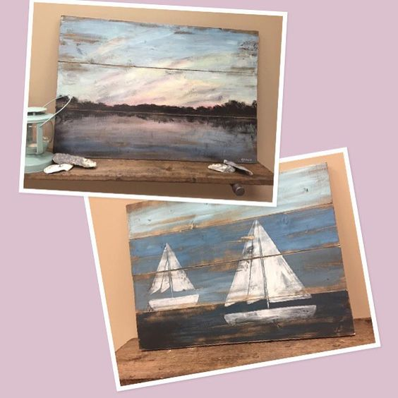 The talented Rustic Beautiful has got us dreaming of calm waters, lazy days and beautiful sunsets. Find it at HERE.a pop-up shop