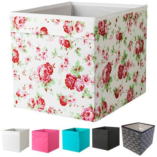 Canvas Storage Boxes For Wardrobes: Details About Ikea DRONA Canvas Storage Box For Expedit