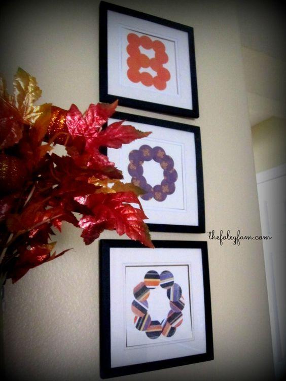 Easy Cheap Upcycled Diy Halloween Goodness Home Decor Tutorials The Foley Fam Blog